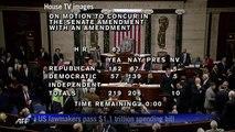 US House approves $1.1 trillion spending bill