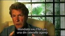Fostul asasin economic, John Perkins, care a lucrat la FMI si Banca Mondiala, dezvaluie in documentarul Zeitgeist - Addendum, cum au lucrat FMI si Banca Mondiala, pentru a distruge economiile multor tari de pe Planeta