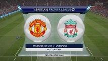 Manchester United vs. Liverpool - Barclays Premier League 2014/15 - EA Sports FIFA 15 Prediction