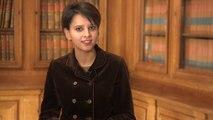 [ARCHIVE] Najat Vallaud-Belkacem présente ses vœux pour l'année 2015