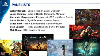 PlayStation Experience - Le tableau :