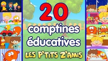 20 comptines et chansons éducatives et ludiques - compilation 38 Min