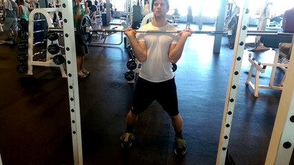 Wing Chun Workouts:  Hang Cleans