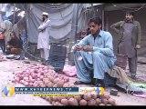پشاور۔ فردوس سبزی منڈی میں دو تاجروں کے قتل کے خلاف تاجران کا احتجاج
