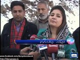 Dunya News -  Azad Kashmir:Locals urge administration to build tunnel to avoid losing access to Leepa valley du