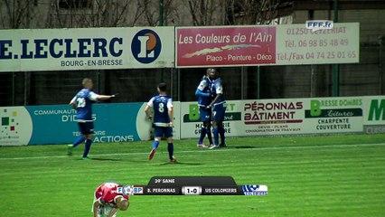 FC Bourg Péronnas 2-0 Colomiers (12/12/14)