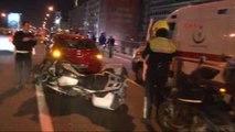 Cumhurbaşkanının Eskortu Dönüş Yolunda Kaza Yaptı