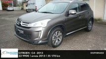 Annonce Occasion CITROEN C4 AirCross 1.6 HDi 4x4 Exclusive 2013