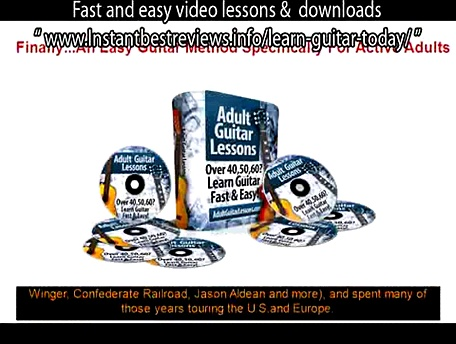 how to learn guitar for metal   Adult Guitar Lessons Fast and easy video lessons