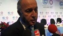 Laurent Fabius tire le bilan de la Conférence sur le climat