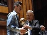 Napoli - Hamsik riceve la cittadinanza sportiva di Napoli -1- (13.12.14)