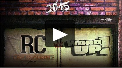 Annonce Rap Contenders/Word Up!