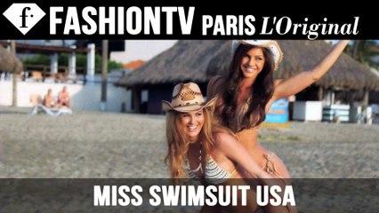 Miss Swimsuit USA Model Search 2013 Photoshoot Part 1 | FashionTV