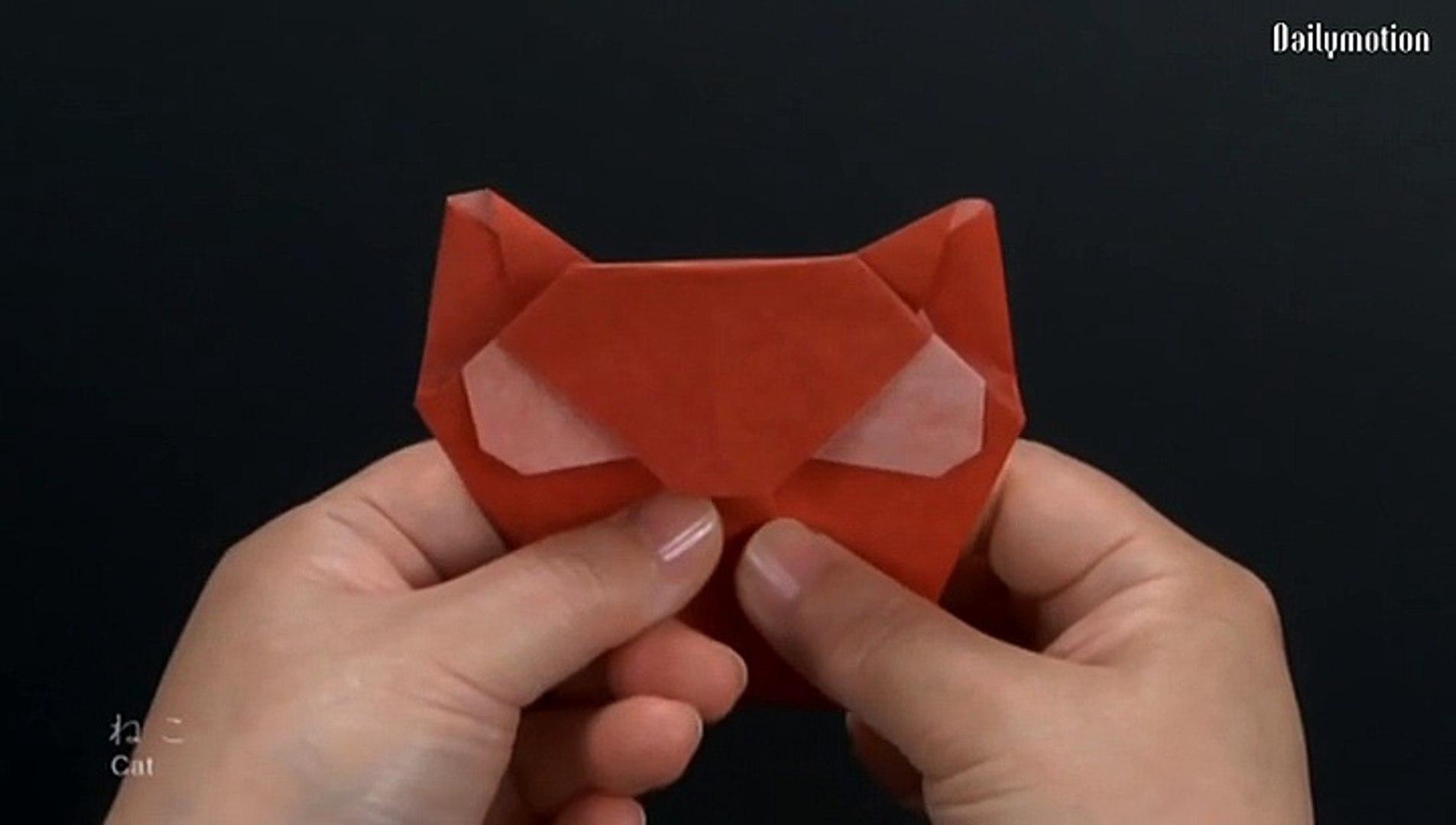 Origami for beginner #5 - Flower - 動画 Dailymotion | 1080x1905