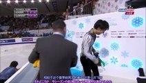(中・日字幕付き)GPF 2014 FS + Interview - Yuzuru Hanyu [Eurosport-British] (Chinese/Japanese Subtitled)