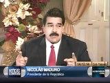 Maduro: Aumentar la gasolina en estos momentos sería echarle más fuego a la candela