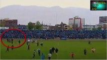 Soccer player hist by lightening Copa Perú, Joao Contreras