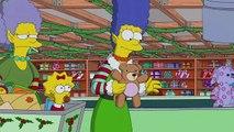 La Reine des neiges s'invite chez les Simpson pour les fêtes de Noël 1/2