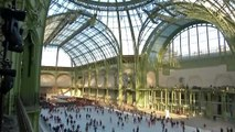 La plus grande patinoire intérieure au monde ouvre au Grand Palais