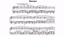 Parfionov Igor Melody Piano piece for young musician Piano Igor Galenkov