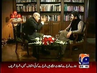 Saleem Safi makes CMShabhaz Sharif speechless, when he said PTI's Aleem Khan is a land Grabber