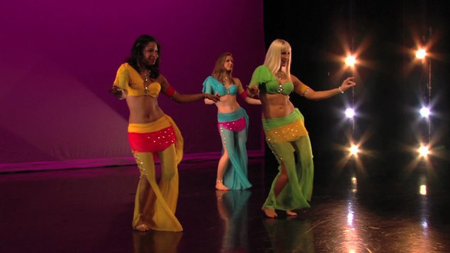 """Don't Make Me Blush"" - belly dance - Neon, Angelys, Jenna Rey"
