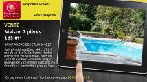 A vendre - maison - SAINT ANDRE DES EAUX (44117) - 7 pièces - 185m²