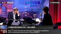 """Le parti pris de Véronique Jacquier : """"L'omniprésidence de François Hollande ne rend pas sa politique plus visible !"""" - 15/12"""