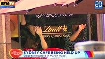 Prise d'otages dans un café à Sydney