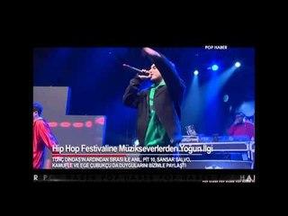Dikkat Dikkat! Organize Oluyoruz! Hip Hop Festival KralPOP TV Görüntüleri