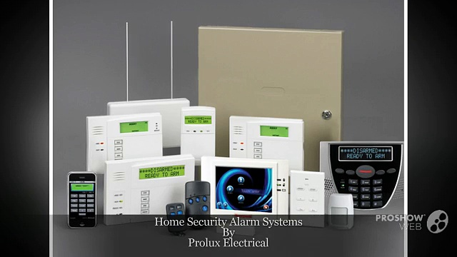 Home Security Alarm Systems by Prolux Electrical