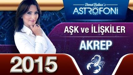 AKREP Burcu 2015 AŞK, ilişkiler astroloji ve burç yorumu
