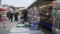 La caméra en balade - Le marché de Noel de Gland et Nyon (16 décembre 2014)