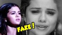 FAKE! Selena Gomez Emotional Justin Bieber AMA Performance
