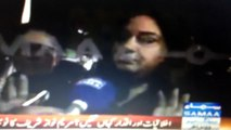 PTI females view on PMLN goons attacking PTI females