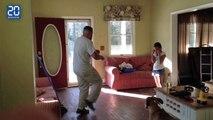 Battle de hip-hop avec sa fille