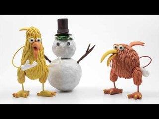 Apprends l'anglais avec Kiwi – Le bonhomme de neige (The snowman)