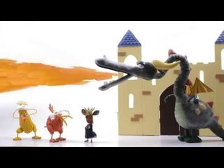 Apprends l'anglais avec Kiwi – Les bébés dragons (Baby dragons)