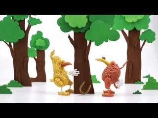 Apprends l'anglais avec Kiwi – Le petit escargot (The little snail)