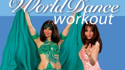 """World Dance Workout - Flamenco, Salsa, Samba, Bellydance, Bollywood"" with Elsa Leandros - Trailer"