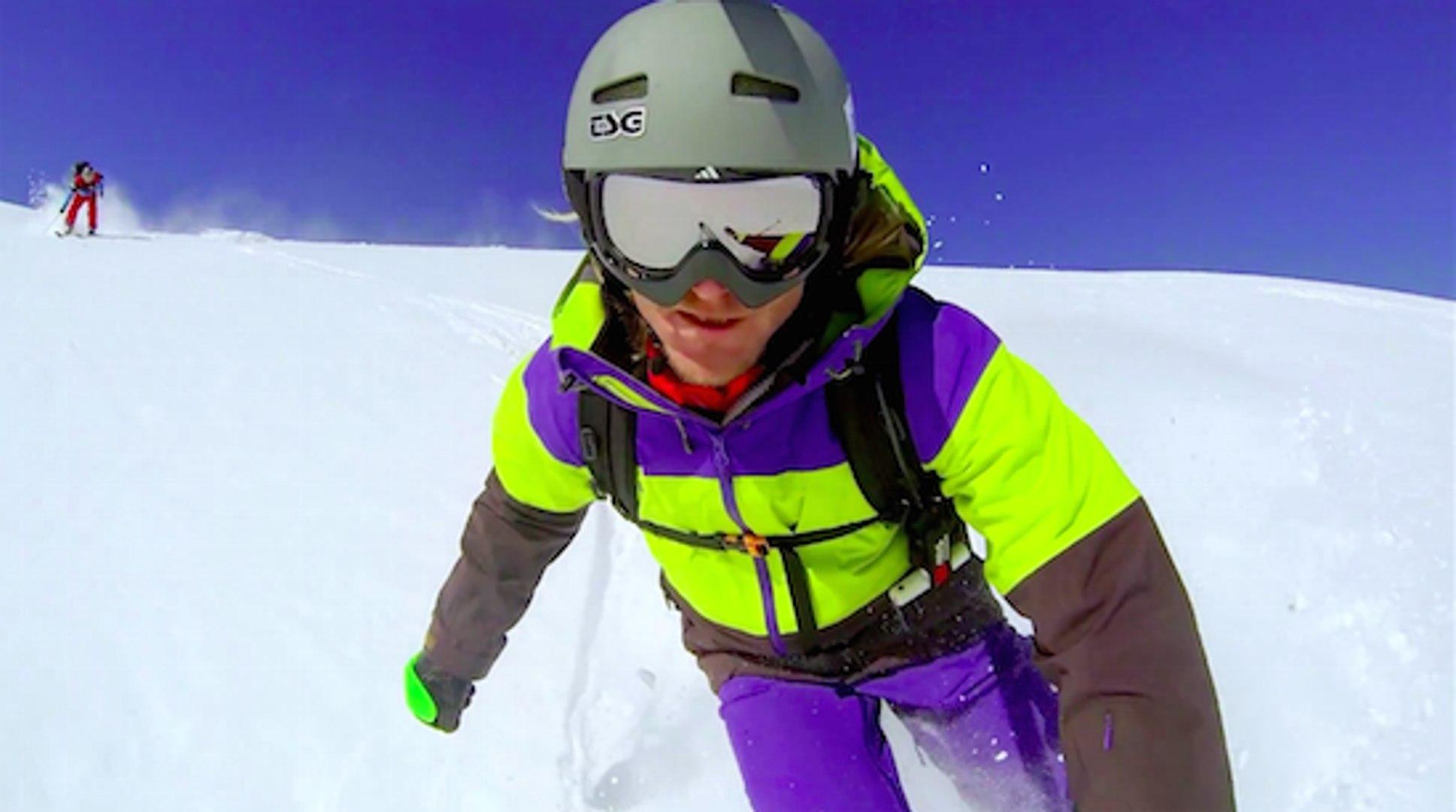 Skiing the Austrian Alps