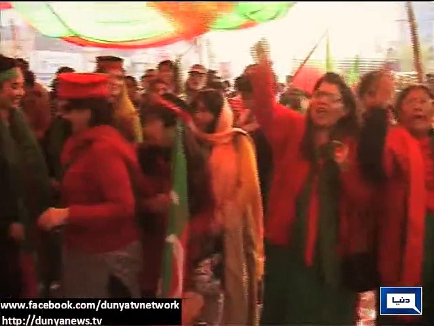 Dunya News - PTI's 'tsunami' destroys daily life routines of Lahore