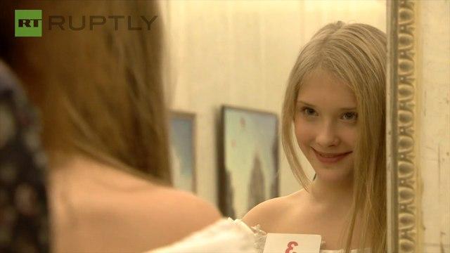 ロシアの美少女コンテスト