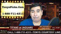 Jacksonville Jaguars vs. Tennessee Titans Free Pick Prediction NFL Pro Football Odds Preview 12-18-2014