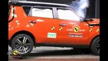 Le Kia Soul obtient quatre étoiles aux crash-tests Euro NCAP