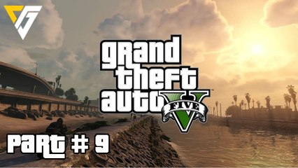 Grand Theft Auto 5 / GTA 5 Walkthrough Gameplay Part 9 (Chop) Campaign Mission 9 (PS4)