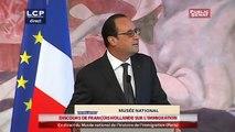 Discours de François Hollande au musée national de l'histoire de l'immigration - Evénements