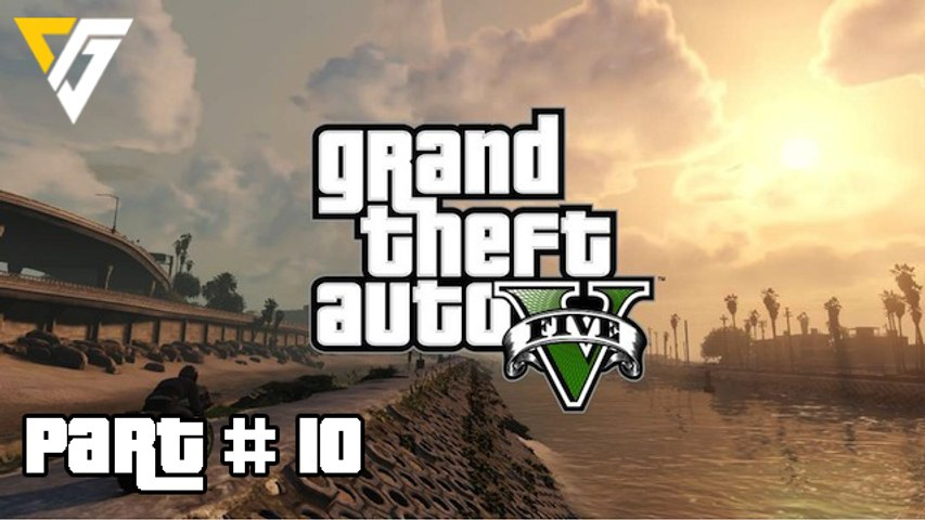 Grand Theft Auto 5 / GTA 5 Walkthrough Gameplay Part 10 (Daddy's Little Girl) Campaign Mission 10 (PS4)
