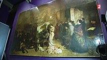 Un chef d'œuvre de Gustave Courbet  restauré sous les yeux du public