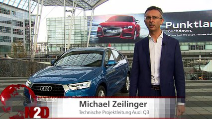 Fahrbericht: Audi RS Q3 und Q3 Modell 2015